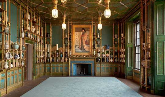 Peacock Room at the Freer Gallery of Art